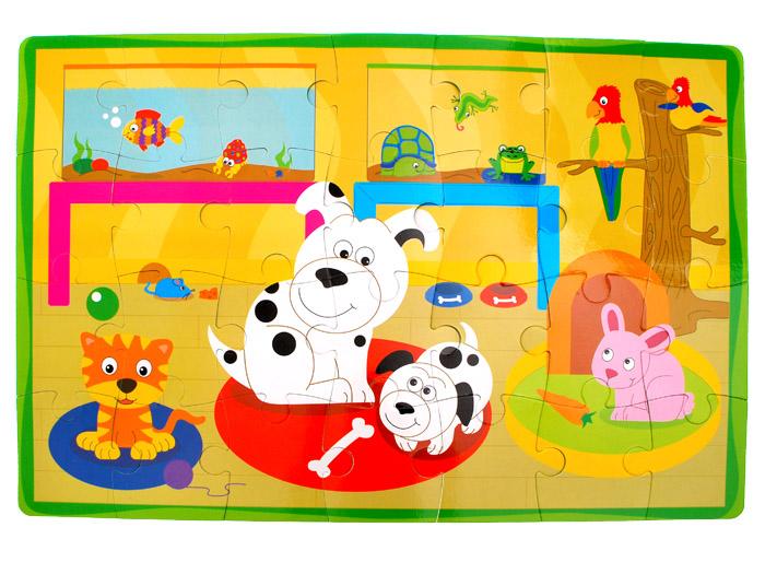 Piankowe miękkie puzzle zwierzątka autka ZA1389 Kolekcja Puzzle piankowe