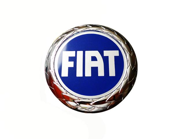 Значок FIAT Punto Panda Seicento Emblem 74 мм