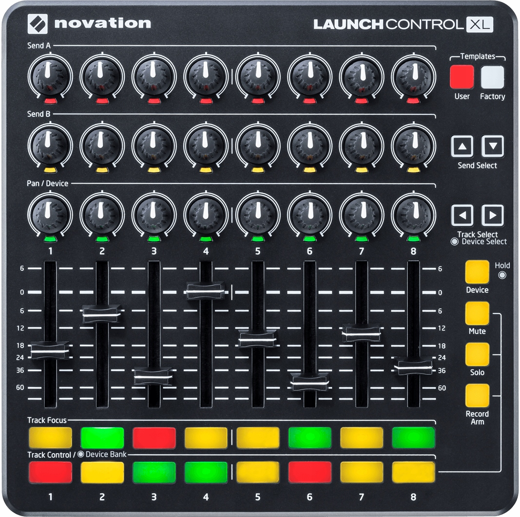 Novation Launch Control XL MK2 + Ableton Live Lite