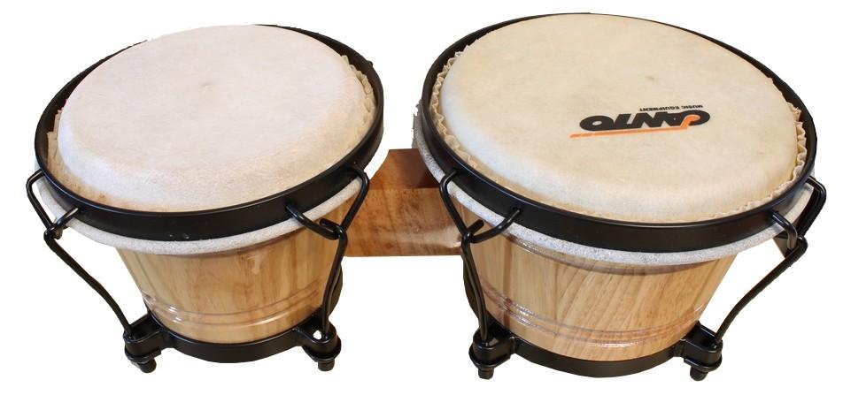 Drevený bongos profesionálny estradický tón