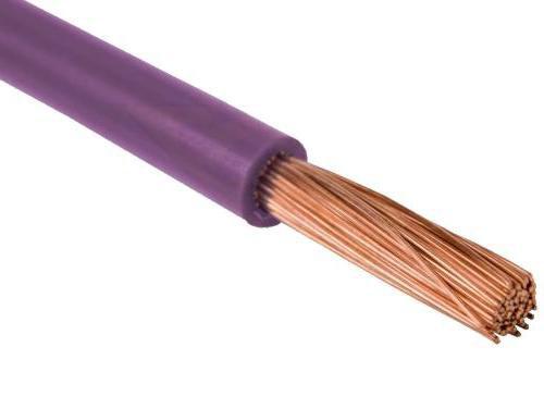 Провод одножильный 1,5мм2 (фиолетовый)