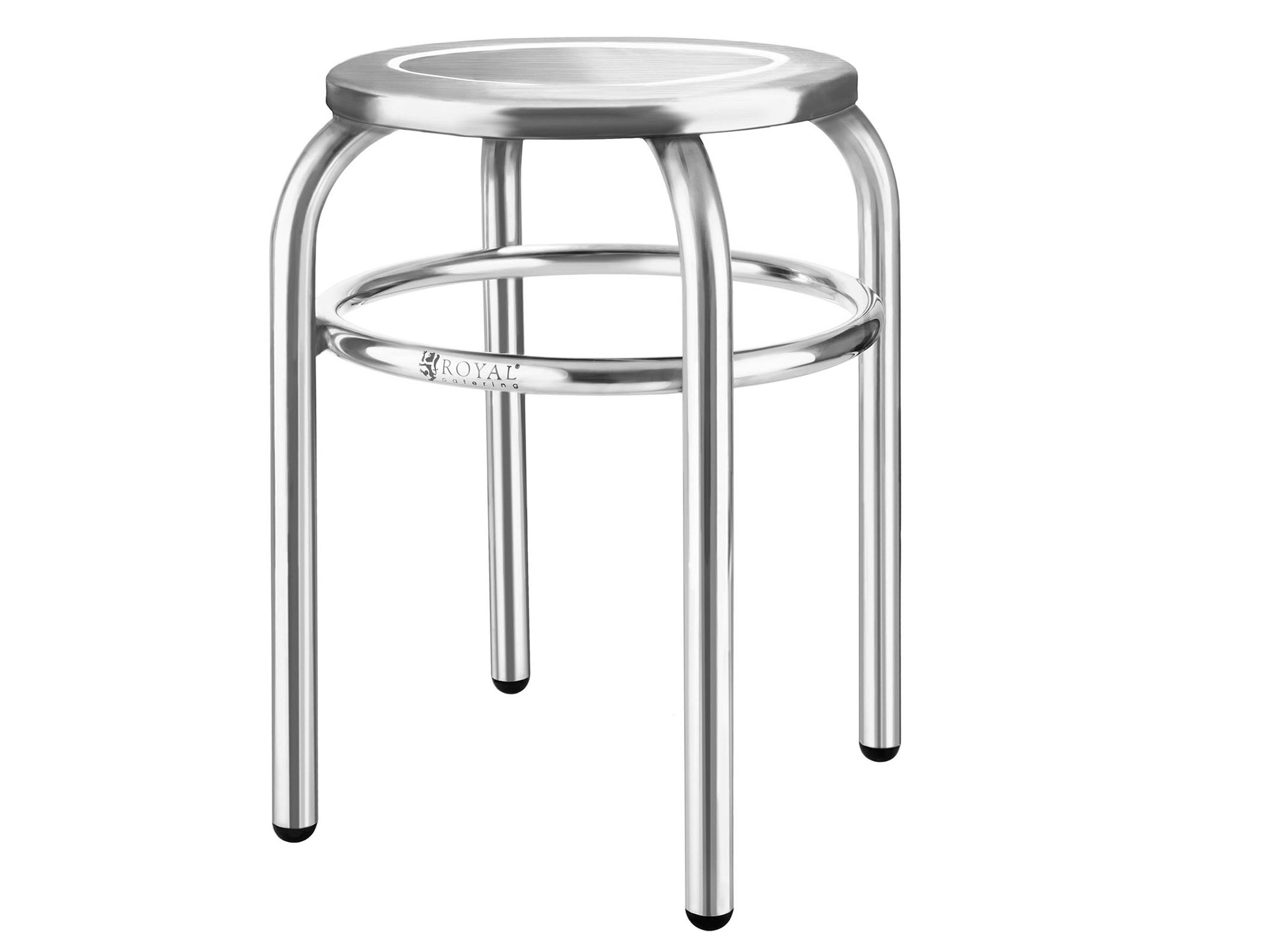 Taboret stolica pre laboratóriu nerezovej ocele FV