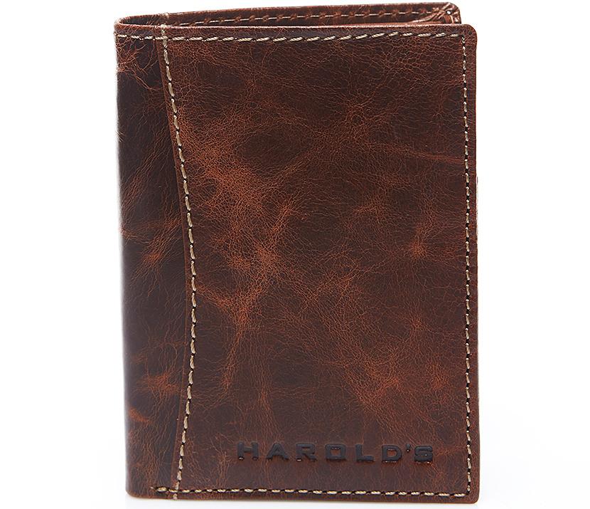 Peňaženka Retro pánske Kožené Hnedé Ručné