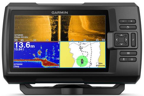 Echosonda s GPS Garmin Striker plus 7SV BYTYMETRY