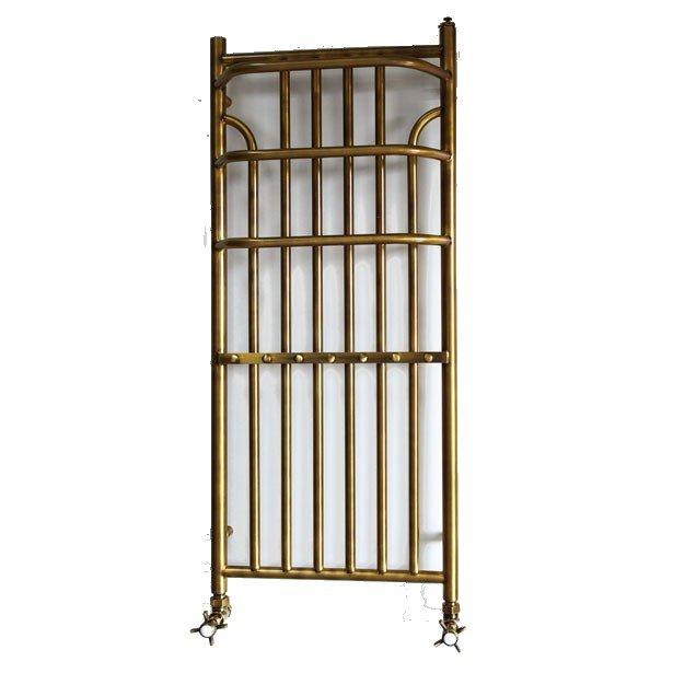 antique brass radiátor Minas-120 x 43 retro