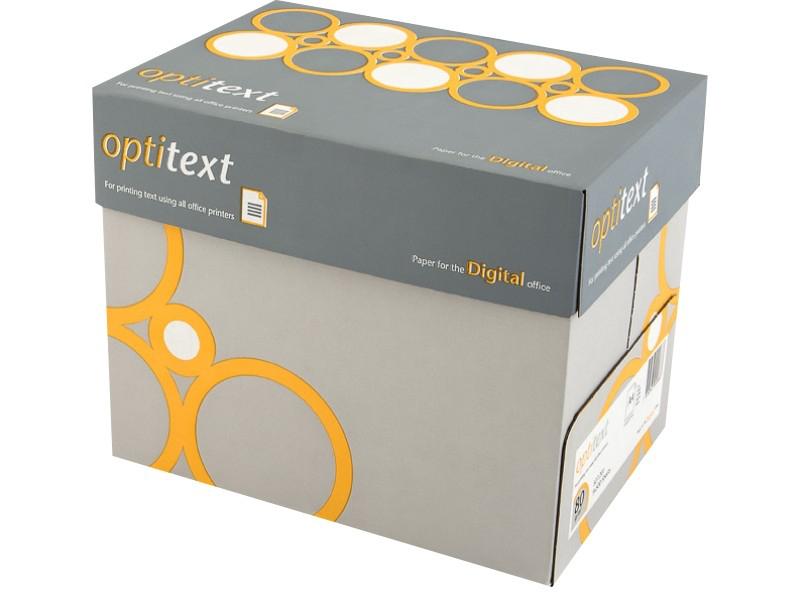 Item PAPER PHOTOCOPIER A4 80G OFFICE OPTITEXT 5RYZ BOX