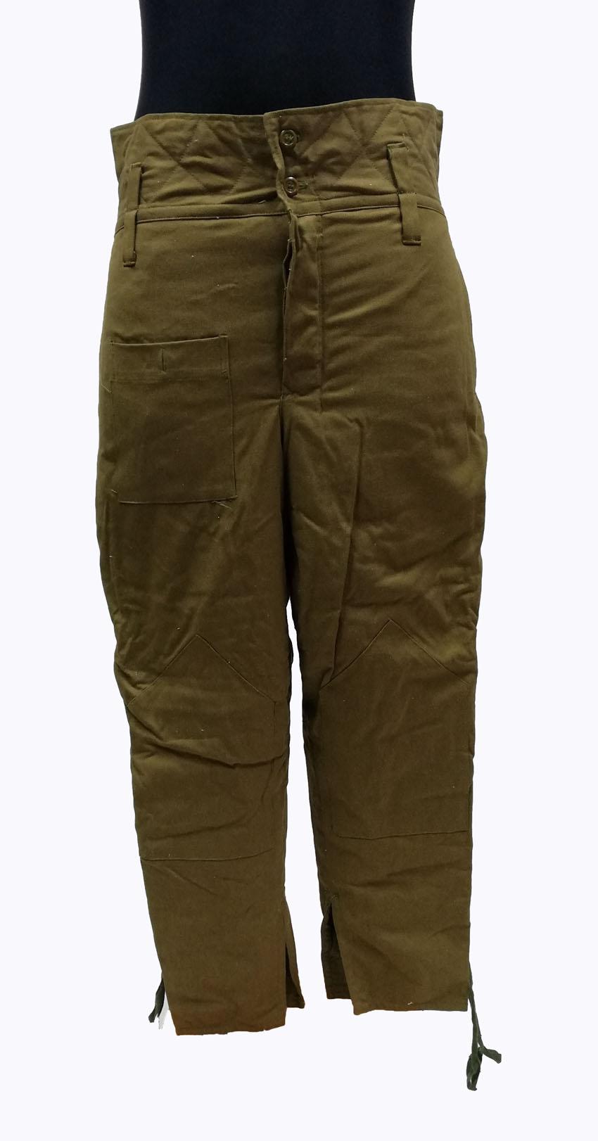 Originálne zimné sovietske nohavice (50-4)