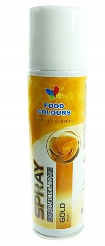 FOOD COLORS SPRAY 50ml ЗОЛОТО