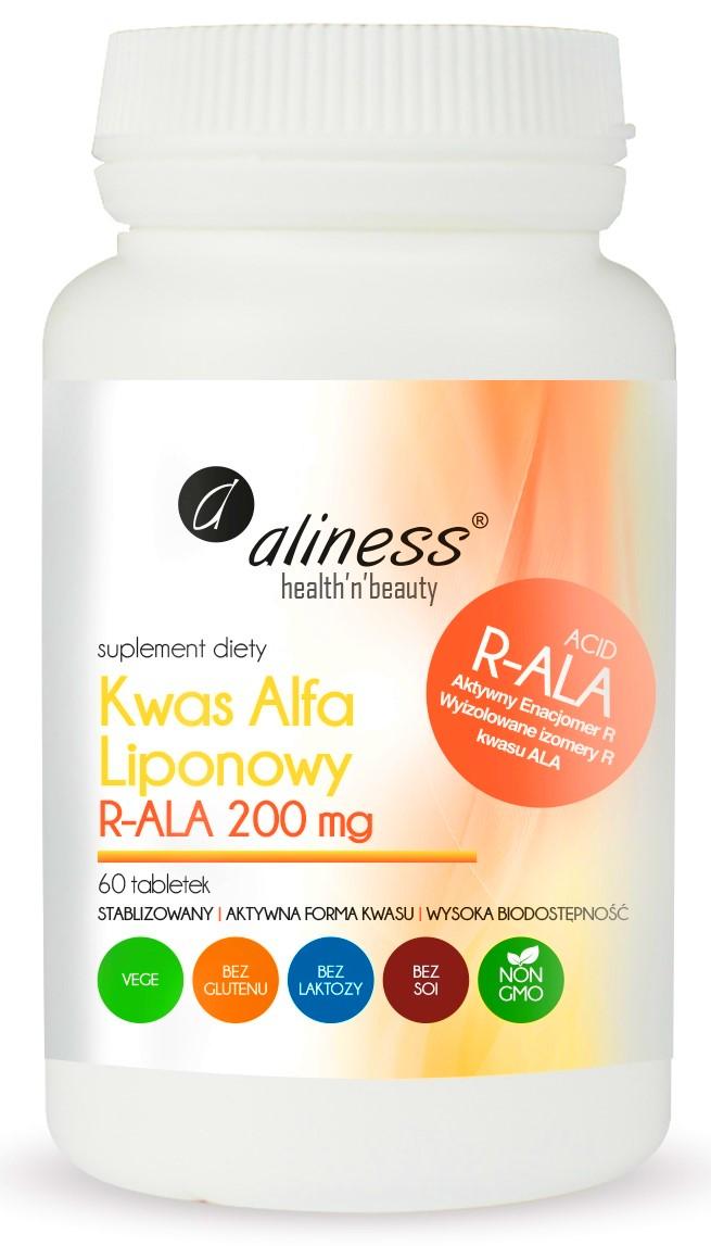 R-ALA KWAS R- ALFA LIPONOWY ANTYOKSYDANT ALINESS