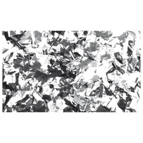 Magicfx (r) kovové konfety obdĺžnik striebro