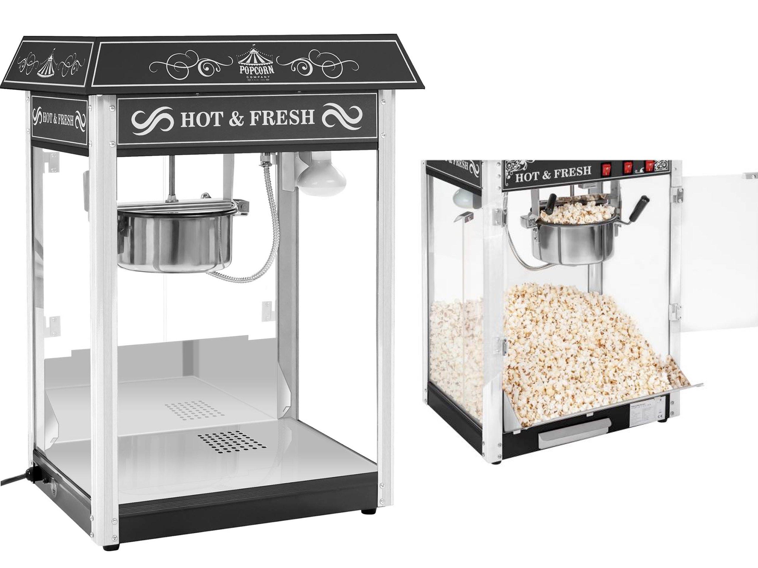 1600W Popcorn Machine Machine 5-6kg / h Popcorn