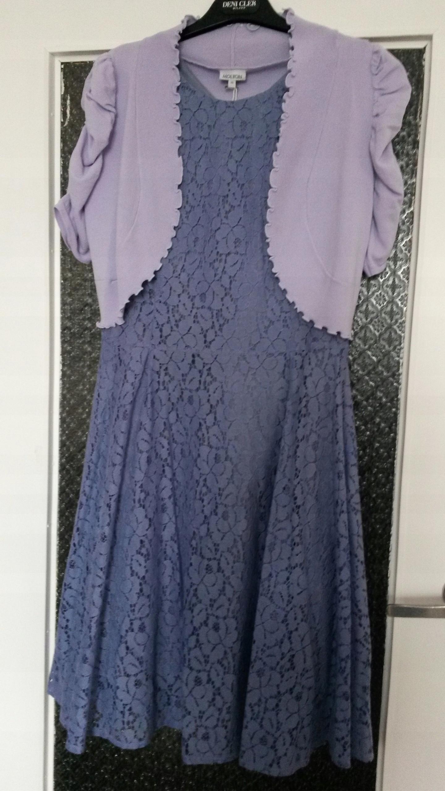 1f7dac0d Mohito sukienka koronkowa 38 +bolerko Molton SALE