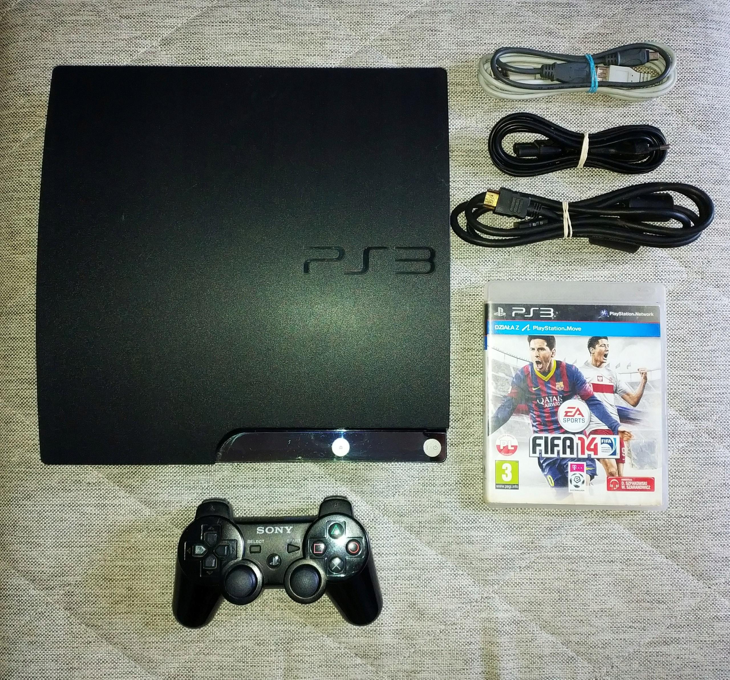 Sony Playstation 3ps3ps 3 Slim 320 Gb Cfw Daftar Harga Termurah Ps 20xxx Refurbish 480 Hdd Internal 120gb Ps3 320gb Soft 355 Przerobiona