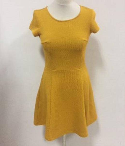 ea7becc02e sukienka h m 34   xs musztardowa żółta - 7411589099 - oficjalne ...