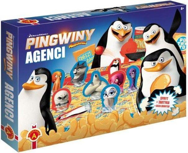 Gra Agenci - Pingwiny z Madagaskaru