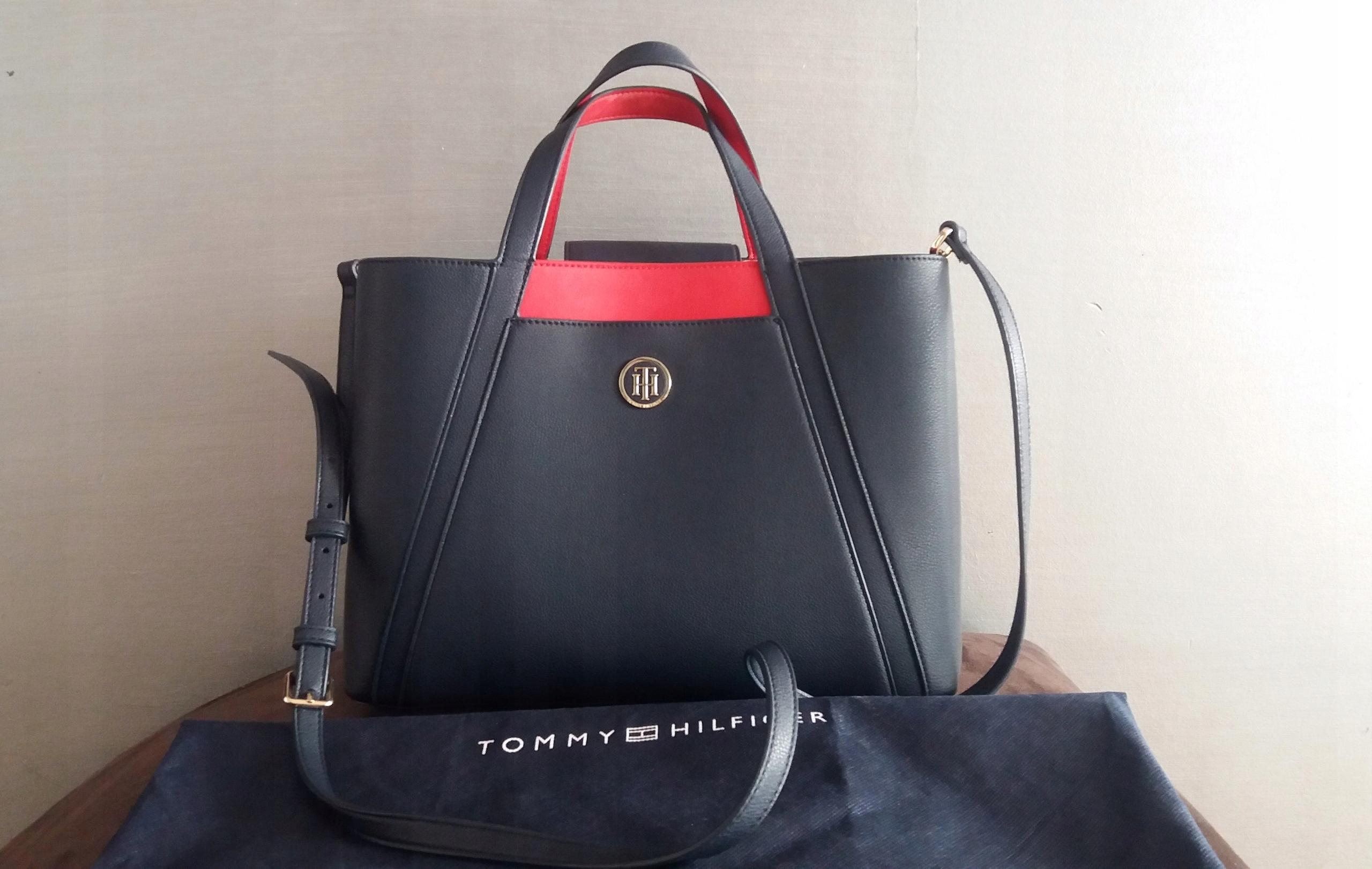 6d929a17baf02 Torebka Tommy Hilfiger Bag In Bag Workbag - 7544482857 - oficjalne ...