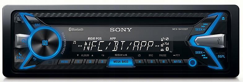 RADIO SAMOCHODOWE SONY MEX-N4100BT Bluetooth