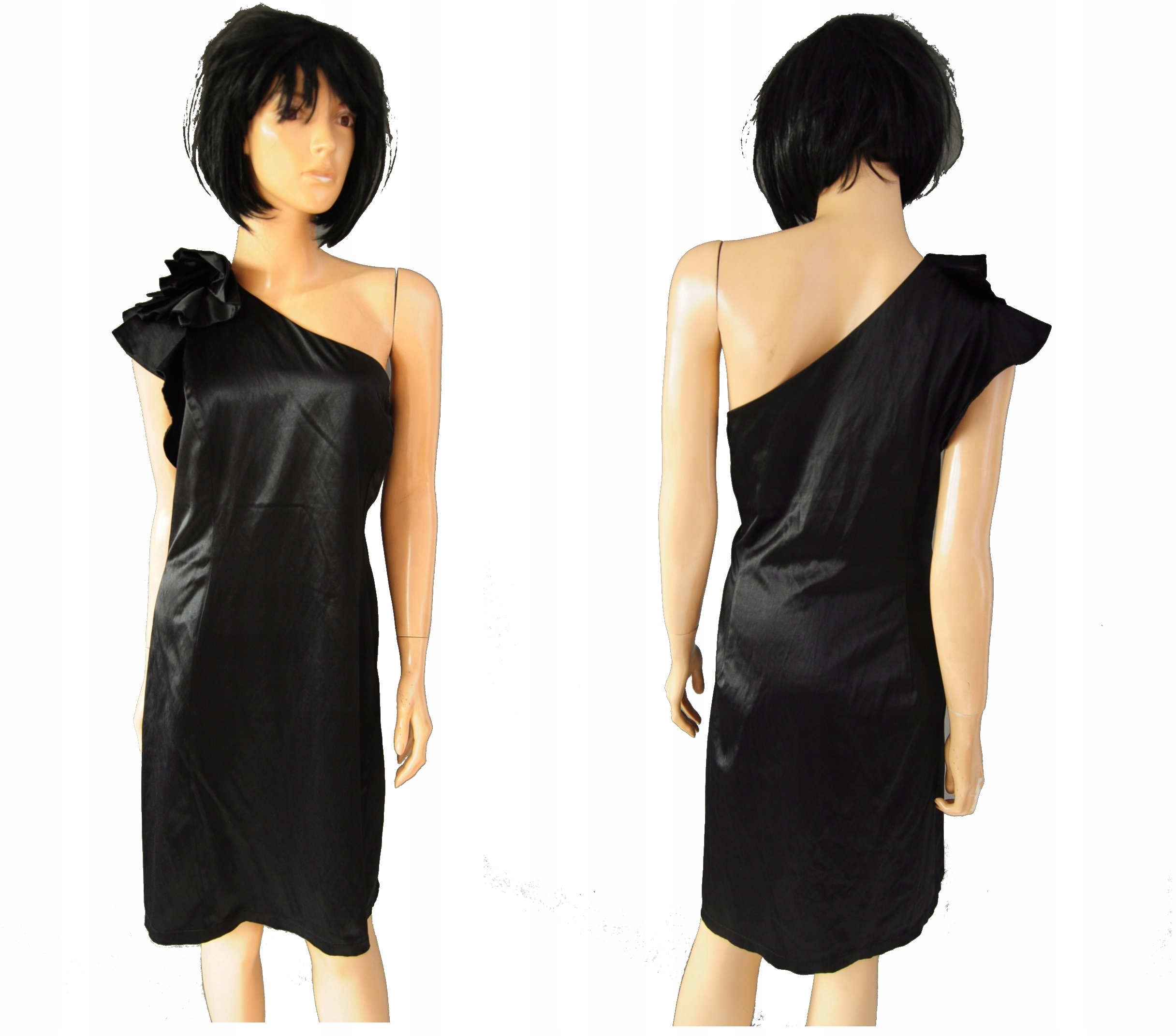 ec0a71e0e5 Red Herring sukienka czarna koktajlowa 46 - 7680427649 - oficjalne ...