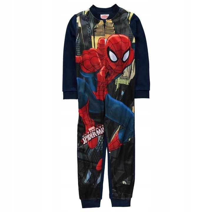 8d4d1ab8d03337 SPIDERMAN polarowa piżama, pajac roz. 104/110 - 7636103935 ...
