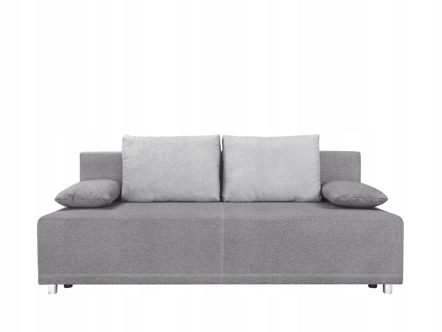 Sofa Rozkładana Szara Zuma 200 Cm Black Red White 7547612645 Oficjalne Archiwum Allegro