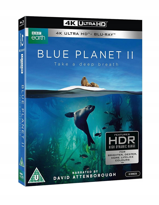 BLUE PLANET II / BŁĘKITNA PLANETA 2 (3xUHD 4K+3BD)