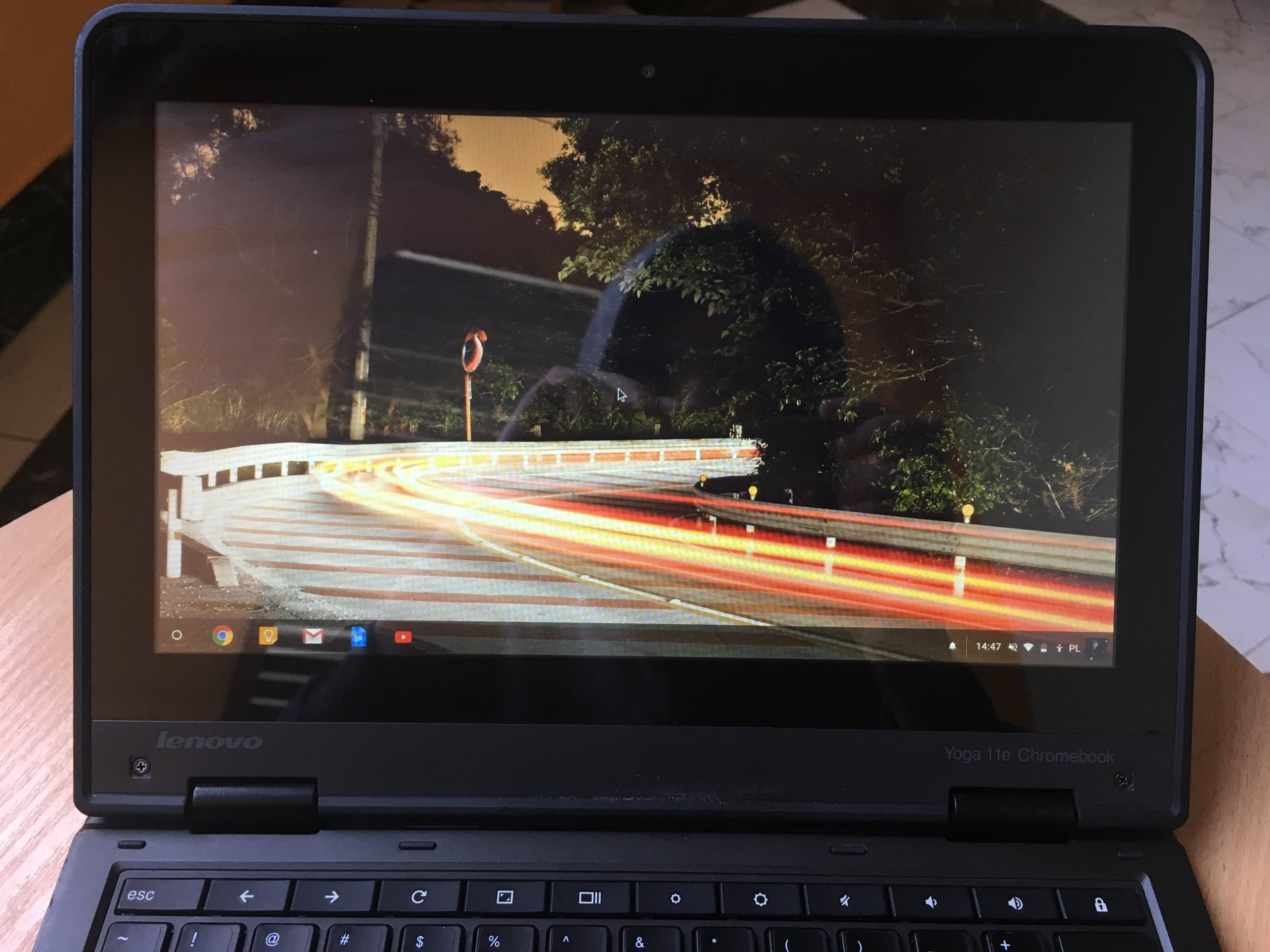 Lenovo Yoga Chromebook 11e IPS 4gb bat 6h 4core