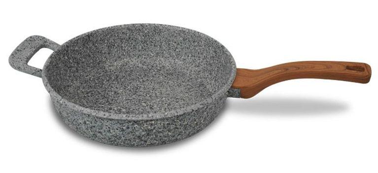 PATELNIA GRANITOWA 28cm GŁĘBOKA PROMIS GRANITE 28