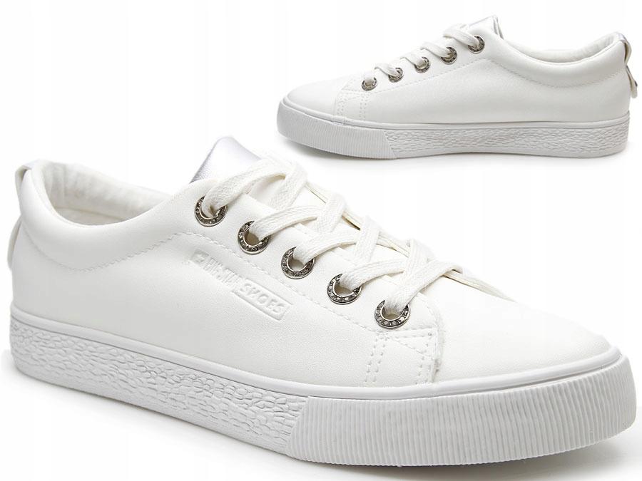Białe Damskie Big Ceny I Buty Star Bb274024 Trampki Opinie