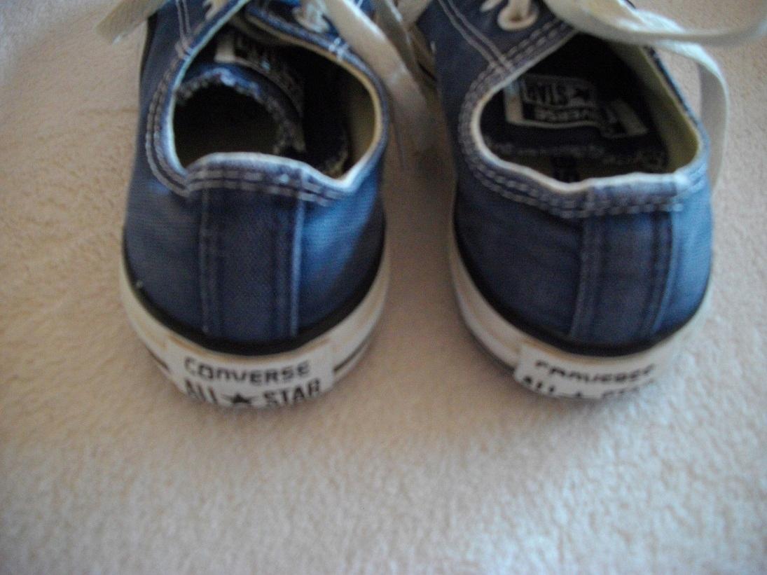 Converse 35 niebieskie tenisówki trampki 22cm 7456864531