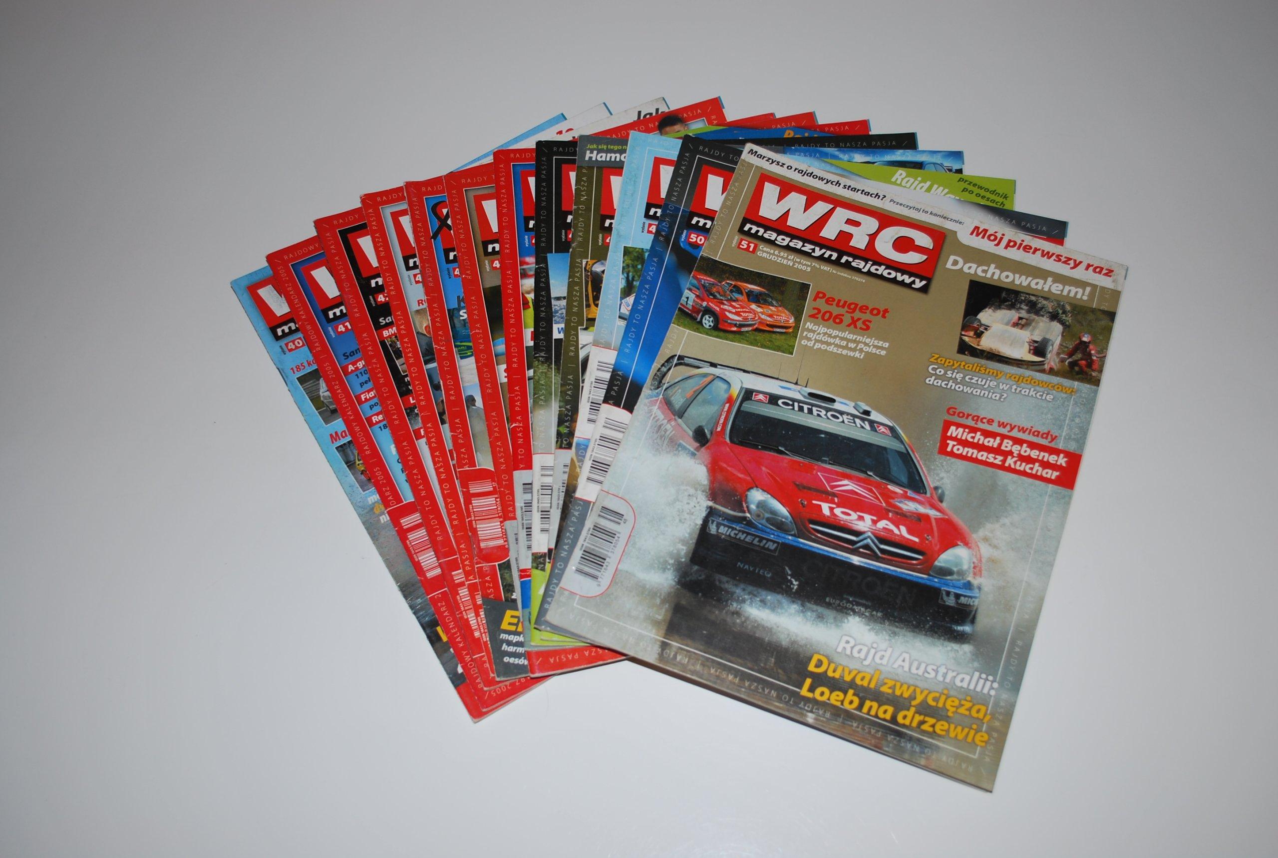 Magazyn Rajdowy WRC rocznik 2005 [nr 40-51]