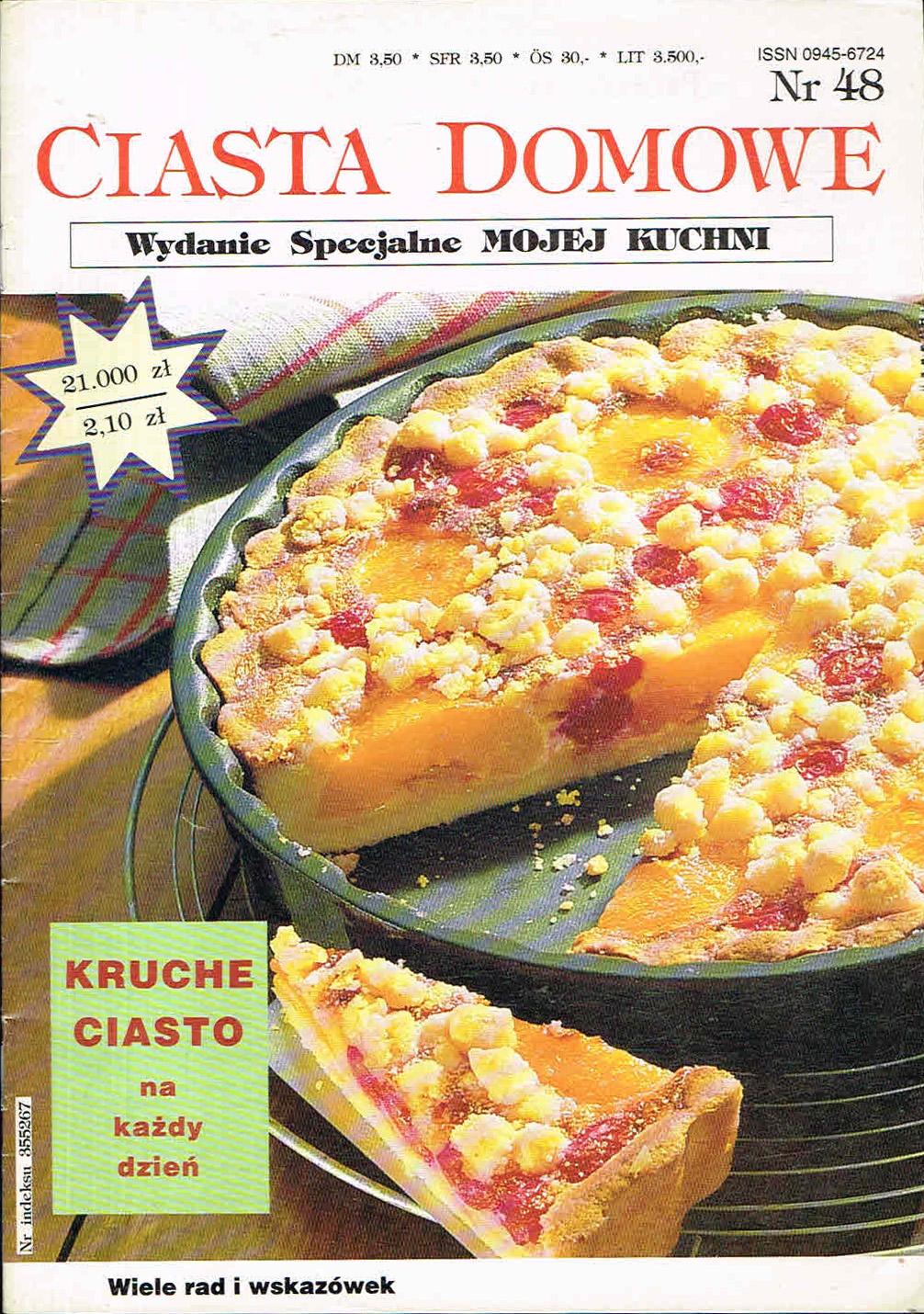 Ciasta Domowe Kruche Ciasto Tort Moja Kuchnia 7434938325