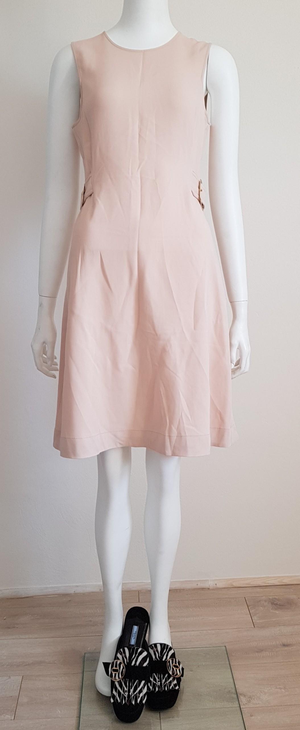 e4f056b12e8951 Stella McCartney sukienka pudrowy róż - 7477428152 - oficjalne ...