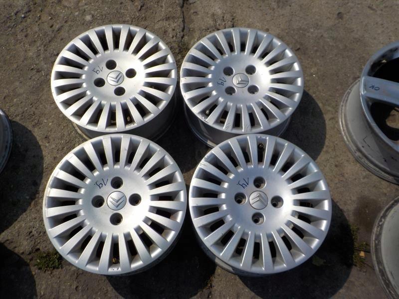 19felgi Aluminiowe Citroen C3 4x108 60j Et27 R15 7446021357