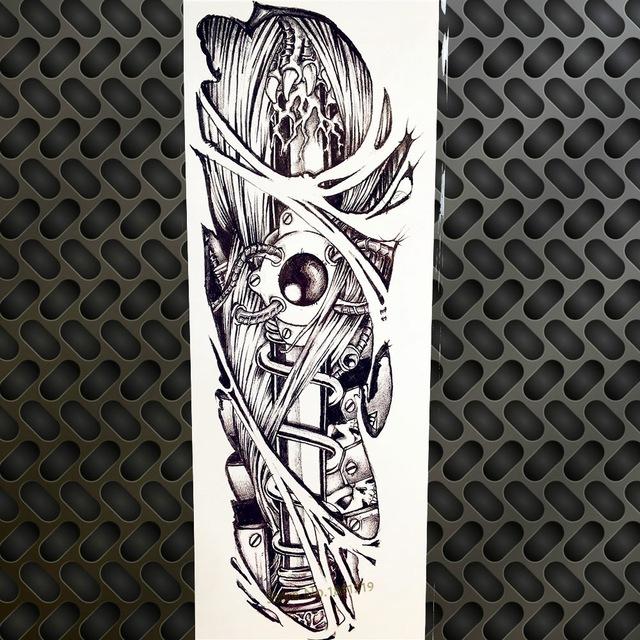 Tatuaż Zmywalny Rękaw Biomechanika 7338938656 Oficjalne