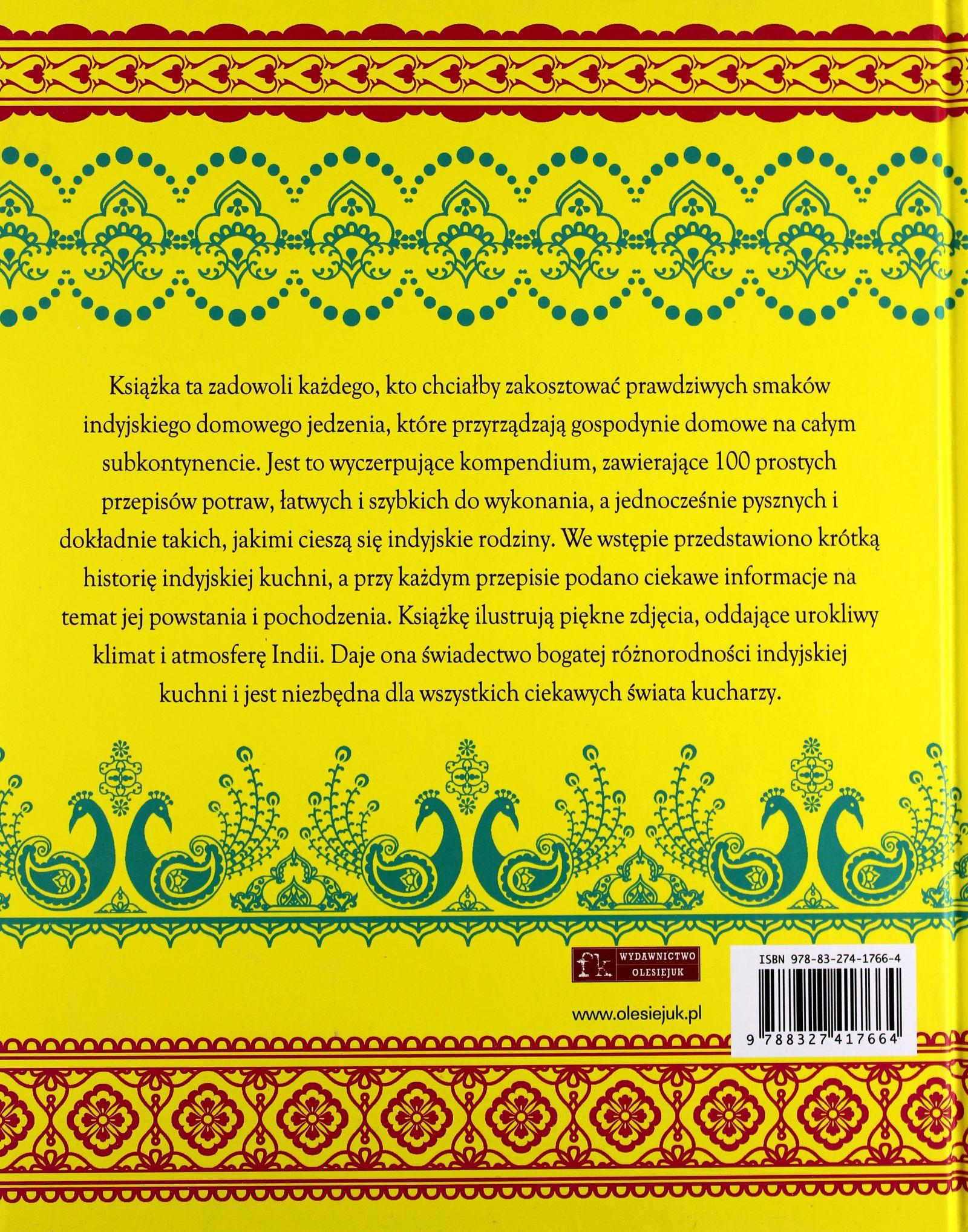 Kuchnia Indyjska Książka 7198741370 Oficjalne Archiwum