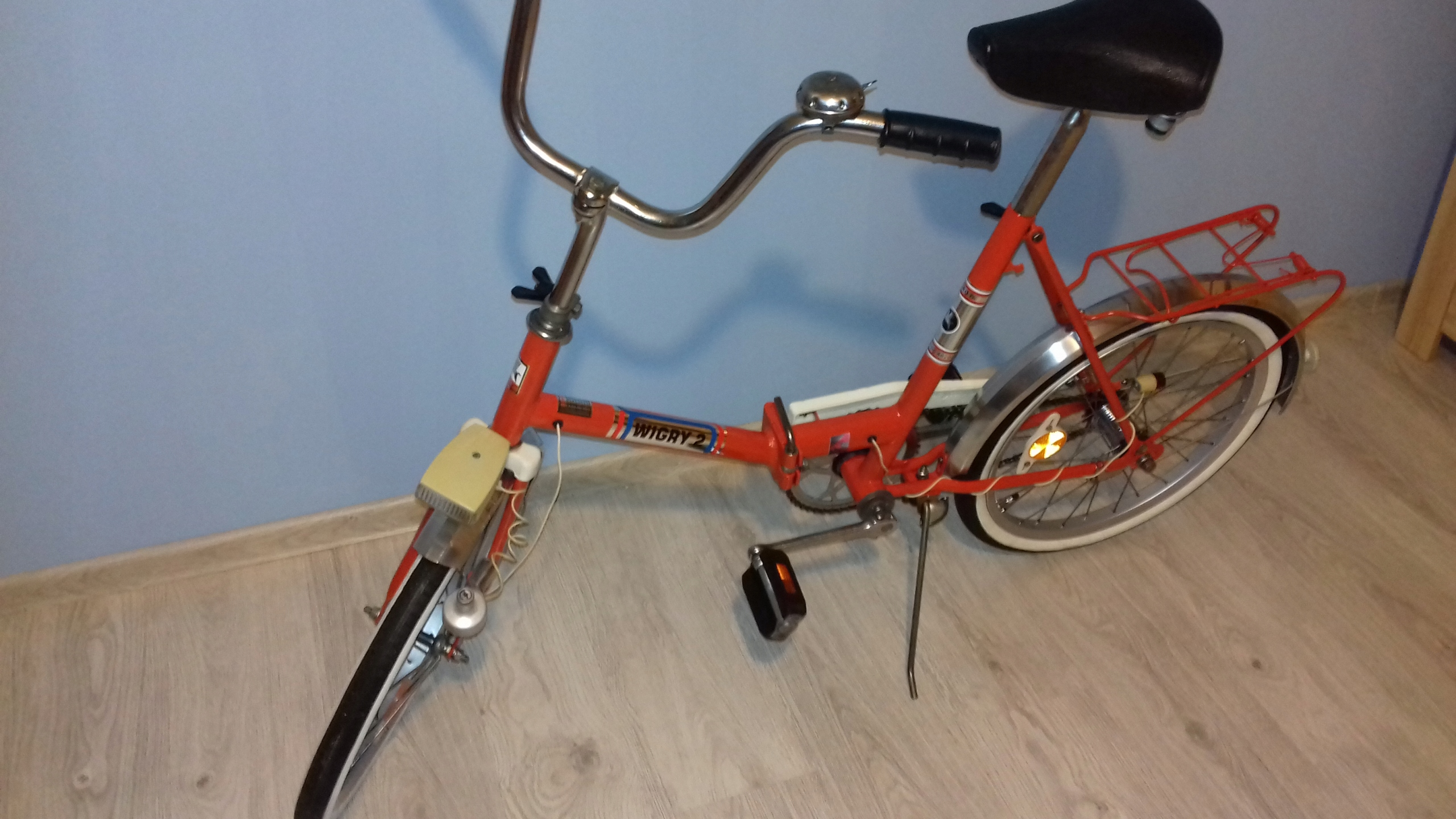 WIGRY 2 Romet rower odrestaurowany (wyprzedaż kol)