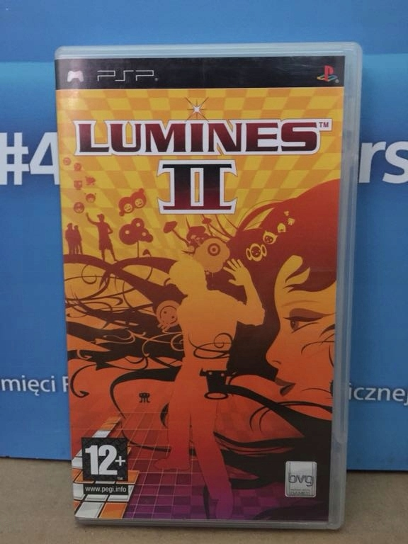 LUMINES 2 PSP PLAYSTATION