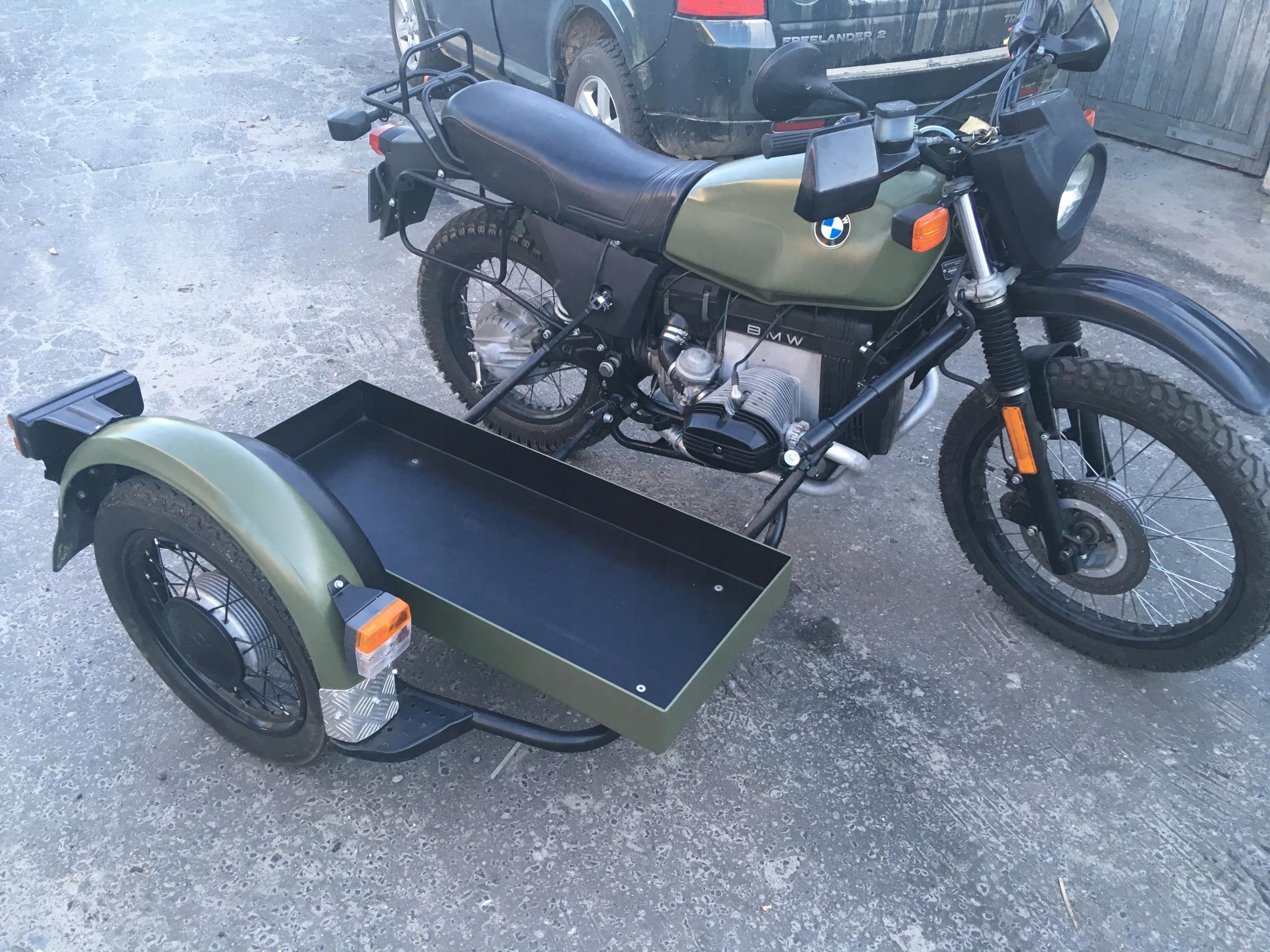 Bmw R 65 Gs Z Wózkiem Bocznym Z Armii Duńskiej 7450153509