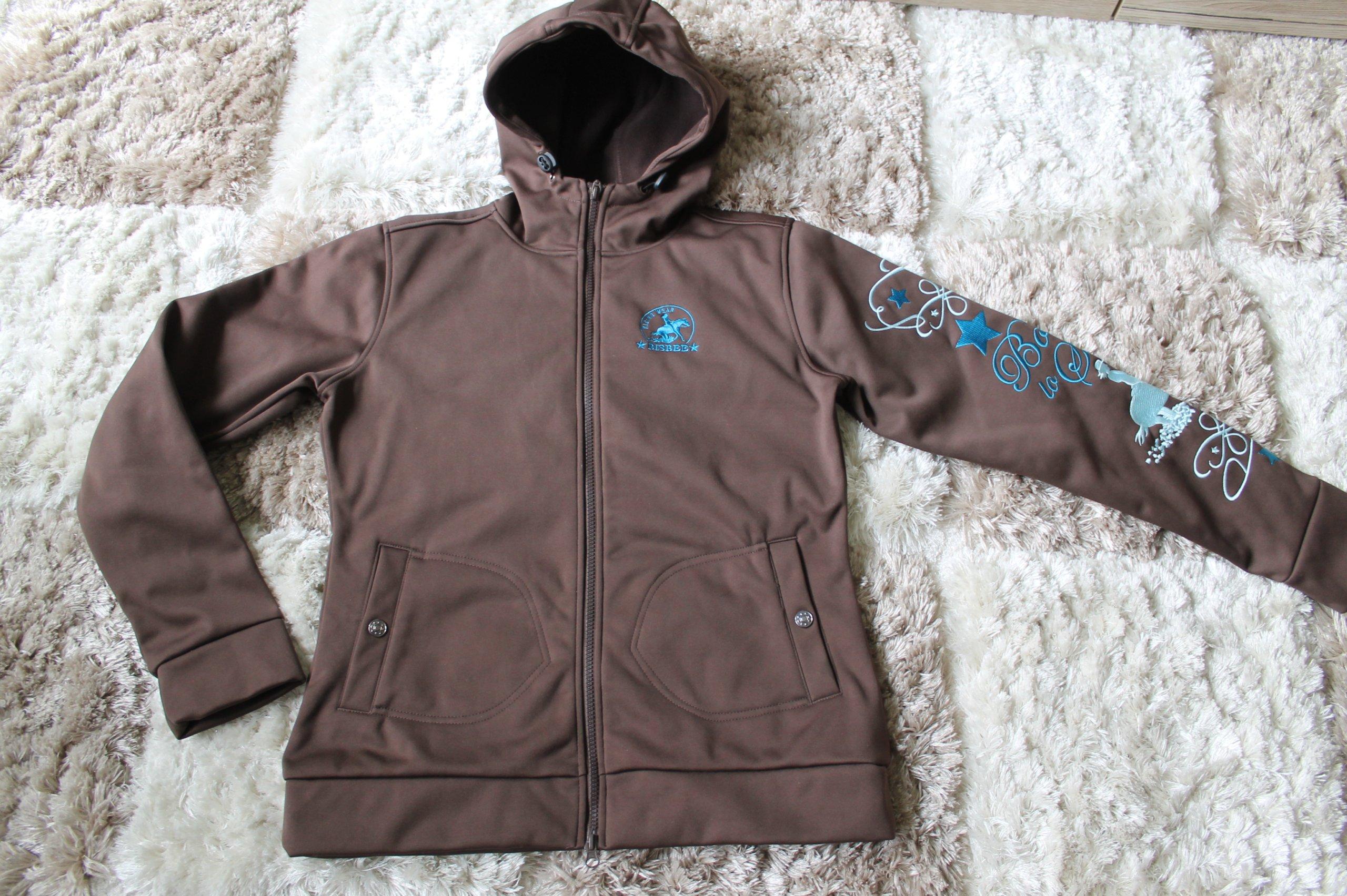 25eee7c37af6b Softshell ocieplany / jacket jeździecki Bisbee- M - 7245604256 ...