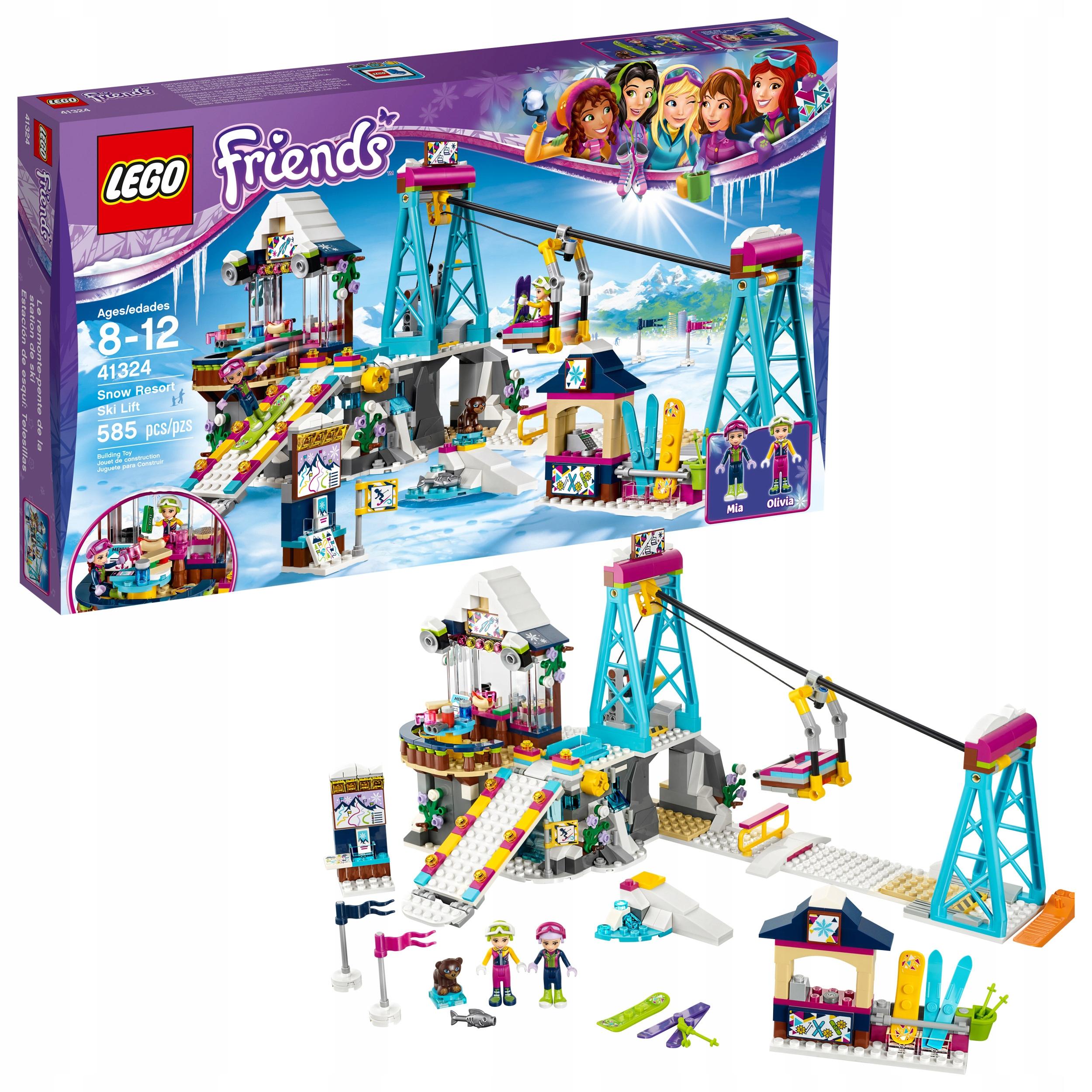 Lego Friends 41324 Wyciąg Narciarski Zimowy Kurort 7654104554