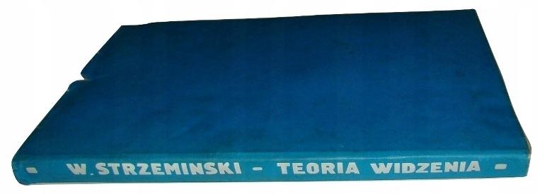 TEORIA WIDZENIA Strzemiński Wyd. 1. + NIKA /SRL