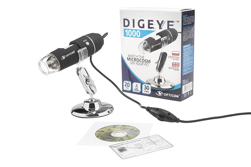 Mikroskop usb digeye 1000x kamera usb 7070886732 oficjalne