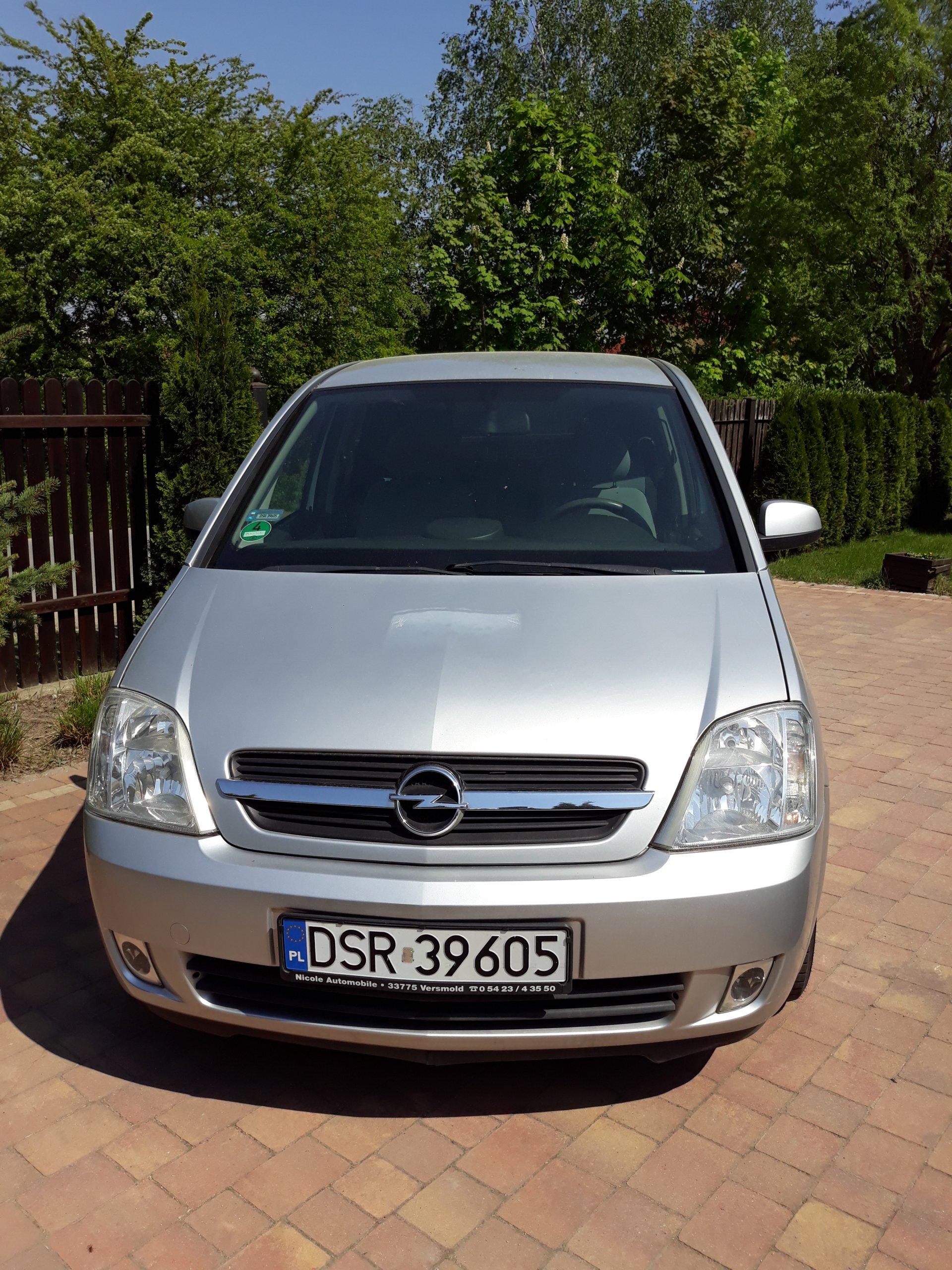 Modne ubrania Samochód osobowy Opel Meriva Benzyna 1,6 - 7322063602 - oficjalne YH82