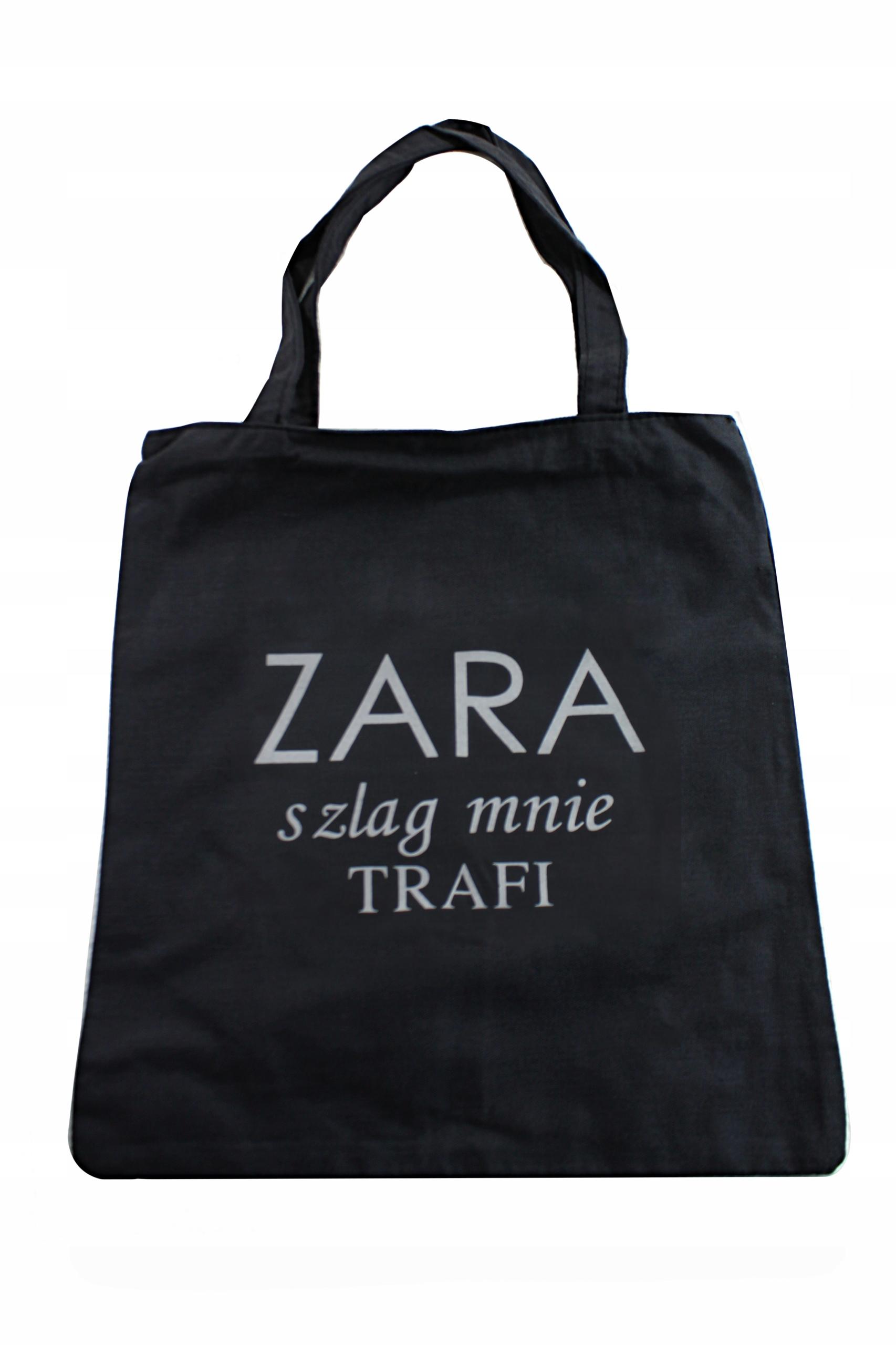 e373cc9f98875 Torba Miejska ZARA Torebka Damska Duża Promocja - 7535507929 ...