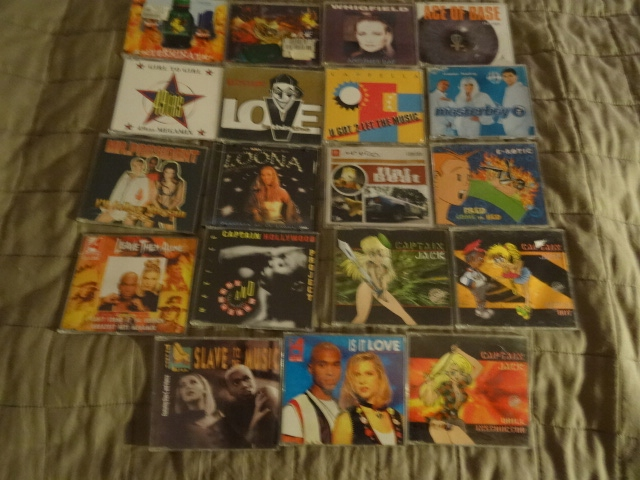 1 Zestaw 19 singli lata 90-te Capella Snap i inni