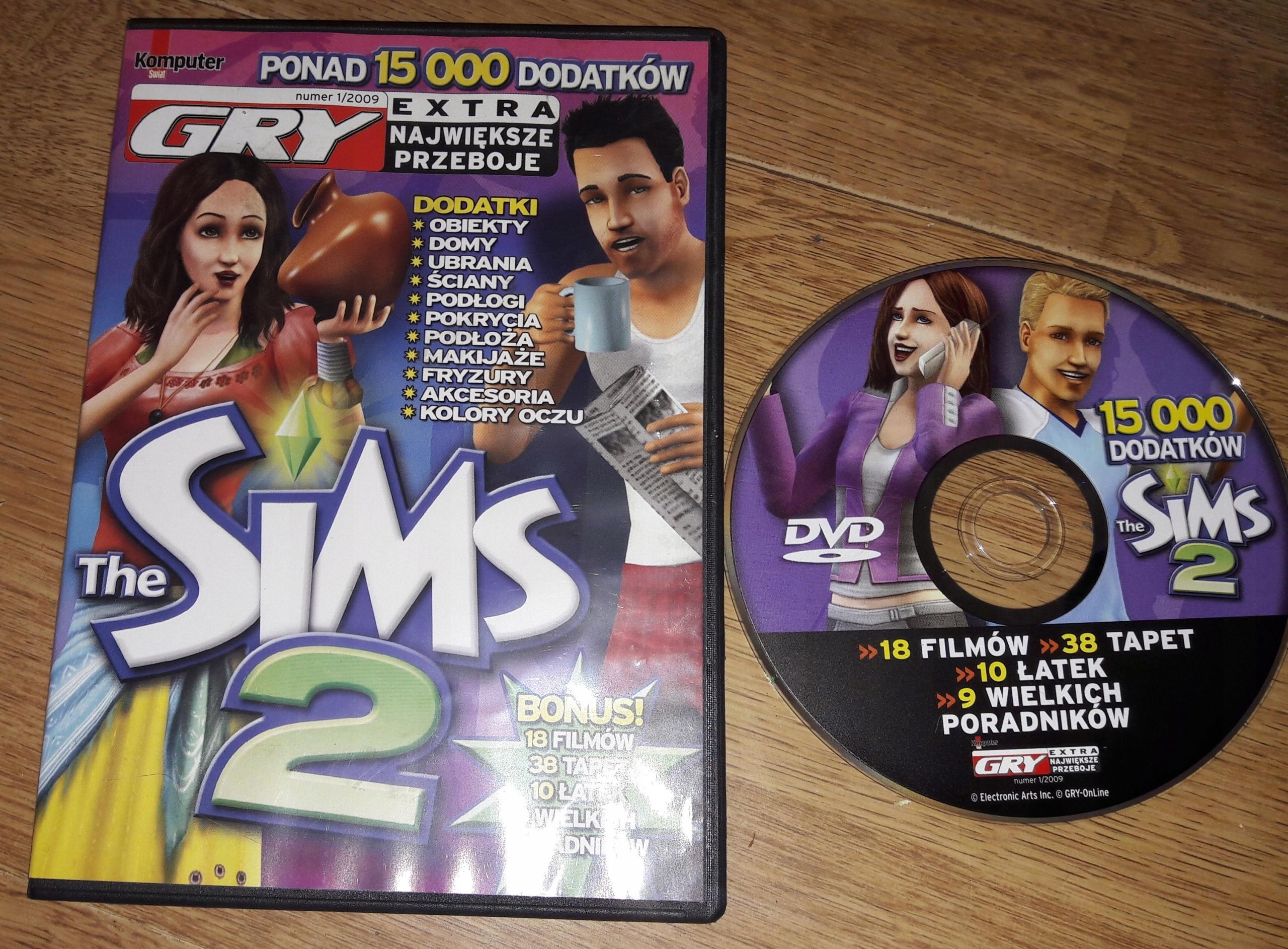 Ponad 15 000 Dodatków Do The Sims 2 Stan 56 7561802164