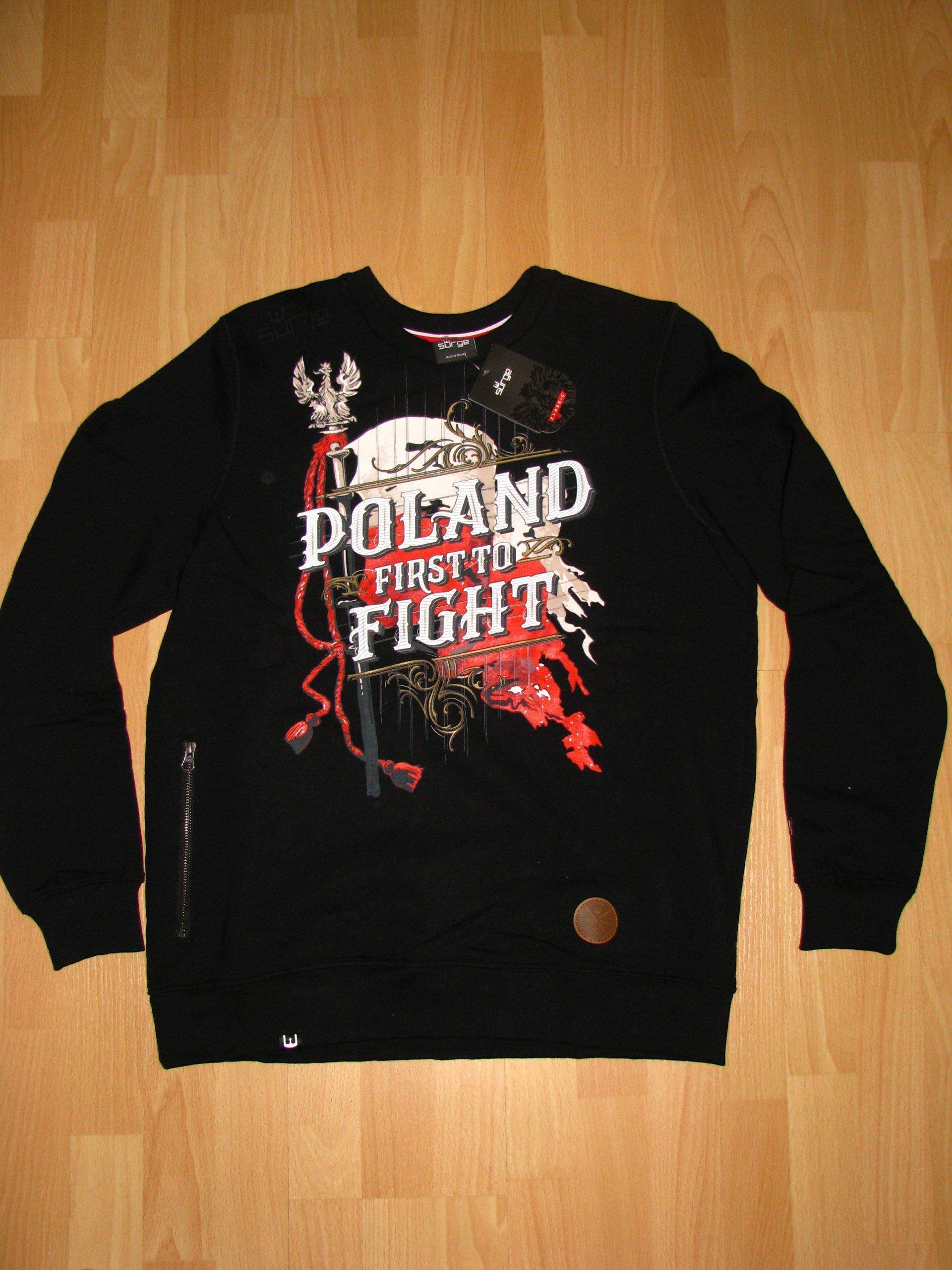 4ba660e9f SURGE POLONIA bluza Poland First to Fight XL - 7058885538 ...