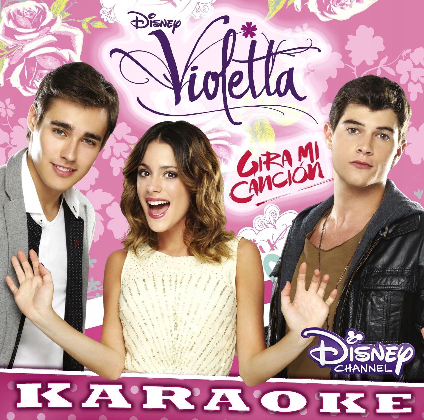 VIOLETTA Girami Cancion 3 KARAOKE Disney ŚPIEWAJ