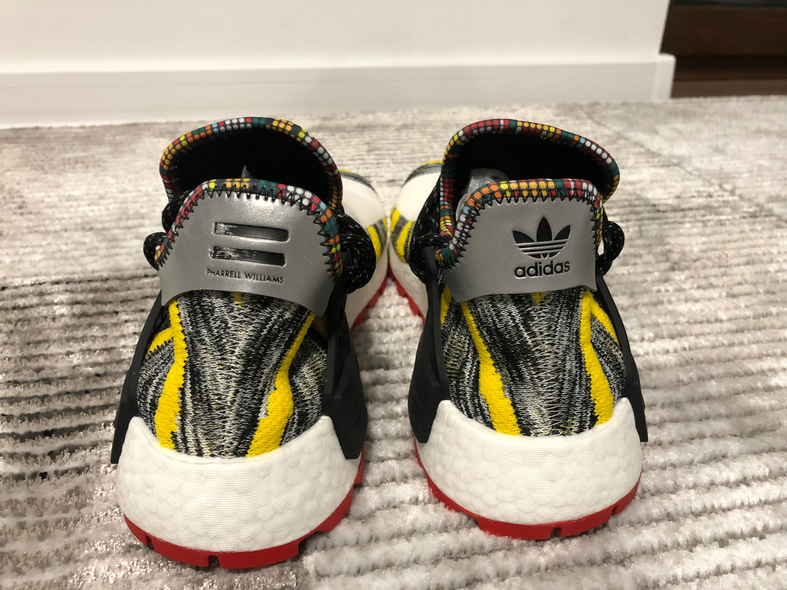 najniższa cena podgląd wysoka moda Adidas Pharell WIlliams NMD Human Race Afro Żółte ...