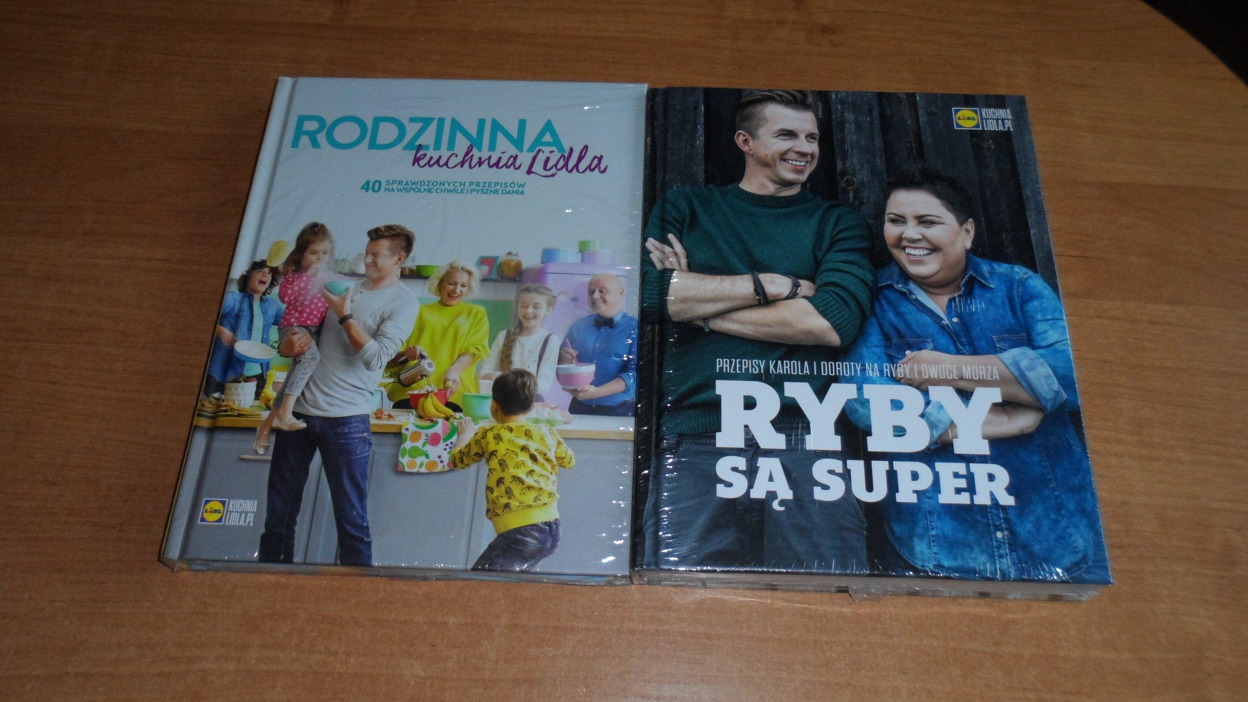 Nowe Ksiazki Rodzinna Kuchnia Lidla Ryby Sa Super 7289687972